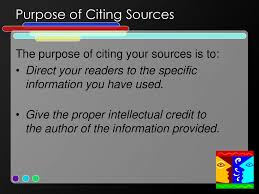 Knowing When And How To Cite Sources Ppt Download