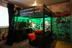 loft bed setup ideas. Exellent Loft Loft Bed And Graffiti Walls In Loft Bed Setup Ideas R