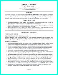 Credit Risk Manager Resume Free Resume Example And Writing Download