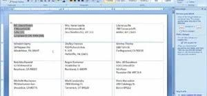 How To Create Envelopes And Labels In Microsoft Word 2007