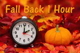 Image result for time change 2019 fall back