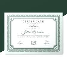 Recognition Certificate Template Free Luxury Gallery