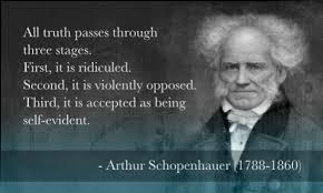 Bildresultat för schopenhauer citat
