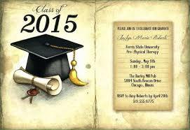 Idea Graduation Invitation Template Word Graduation Clever Free