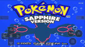 Pokemoon sapphire version - Free GBA Classic Game for Android - APK Download
