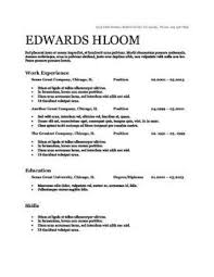 Ats Friendly Resume Example