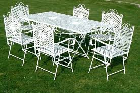 White cast iron patio furniture Manufacturers White Wrought Iron Patio Furniture White Cast Iron Patio Furniture Used White Wrought Iron Patio Furniture Getleanclub White Wrought Iron Patio Furniture Image Of Cast Iron Outdoor