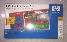 American Greetings Templates New Hp Holiday Photo Cards By American Greetings 4x8 Perf