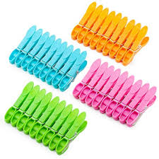 Colorful Plastic Clothespins, Heavy Duty Laundry ... - Amazon.com