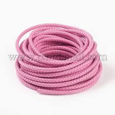 braided leather cord wl f009 b06 6mm 1