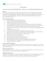 accounts receivables resumes resume account receivable resume