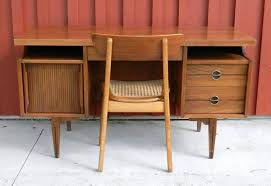 mid century office furniture. Mid Century Modern Desk For Wood Office Furniture