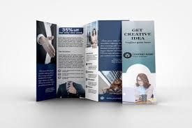 Fold Flyer Four Fold Brochure On Behance