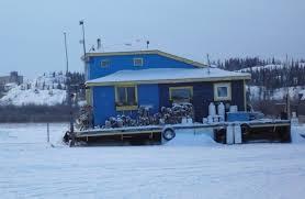 Pictures Of Houseboats Ice Lake Rebels Of Yellowknife Bay Wapawekka