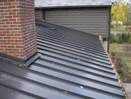 pictures of kynar painted steel roofing