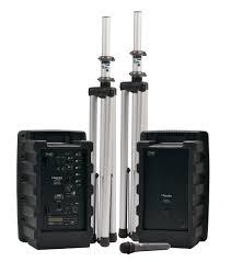 sound system wireless: battery powered sound system  speakers  wireless microphone