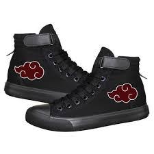 Akatsuki Icon <b>Canvas Shoes</b> | <b>Naruto shoes</b>, <b>Shoes</b>, Custom <b>shoes</b>