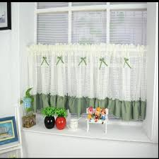 Amazoncom DIAIDI Rural Sheer Curtain Lace Hollow Balloon Blinds Lace Window Blinds