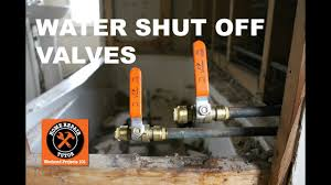 How To Install A Shark Bite Shut Off Valve In A Bathroom Step By