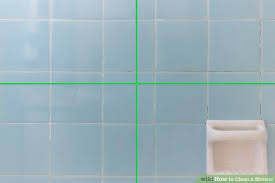 Best Way To Clean Bathroom Tile Stunning 48 Ways To Clean A Shower WikiHow