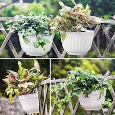 4 pack 9 84 inch wall hanging planter