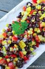 black bean salad santa fe