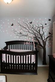 grey furniture nursery. fancy light grey painted nursery decor ideas for girl involving black crib to match tree decal furniture f
