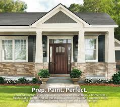 completing the exterior paint project
