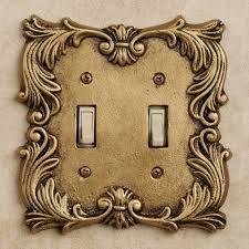antique switch plates. Delighful Antique Fleur De Lis Double Switch Antique Brass On Plates O