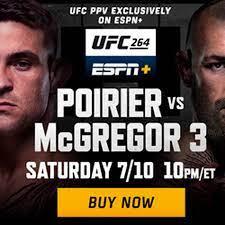UFC 264 results: Live stream updates, highlights, fight videos | 'McGregor  vs Poirier 3' - MMAmania.com
