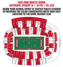 Wake Forest Stadium Seating Chart Dressing Up Carter Finley For Saturdays Opener