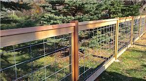 Hog Wire Fence Gate Installing Hog Wire Fence Gazebo decoration