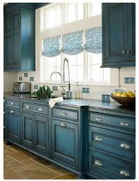 Blue Cabinet Kitchen Beautiful Blue Kitchen Cabinet Ideas ...