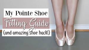 Suffolk Pointe Shoes Size Chart Pointe Shoe Fitting Guide And An Amazing Shoe Hack Kathryn Morgan