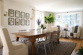 farmhouse dining room. before + after: a farmhouse dining room n