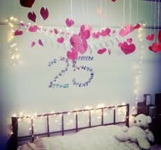 decorating the bedroom for my boyfriend s birthday do it yourself