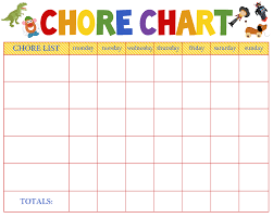 Apartment Chore Chart Free Printable Work Schedule Template Scheduling Template