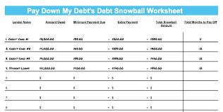 Dave Ramsey Debt Snowball Excel Spreadsheet Fresh Example Of