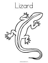 Small Picture Lizard Coloring Page Twisty Noodle
