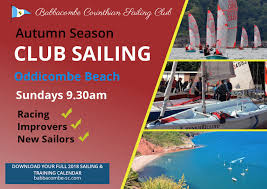 Sundays Only Calendar Whats On This Week Bcsc Babbacombe Corinthian Sailing Club