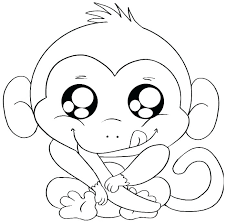 5 Little Monkeys Coloring Page Printable Monkey Coloring Pages 5 5