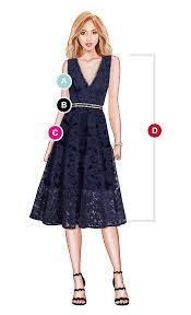 Dress Size Chart Measurements Ever Pretty Us