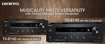 onkyo 8140. while providing the ease of wireless bluetooth and wi-fi, tx-8140 also has excellent sound quality, meaning that your listening experience will onkyo 8140
