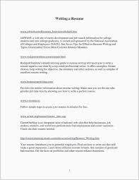 Resume For Fresh Graduate Software Engineer New Career Objective For