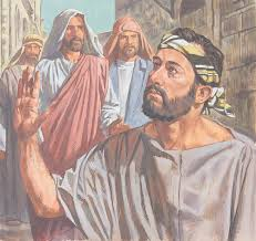 Image result for pictures of Jesus healing the man