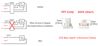 g24q 3 wiring diagram wiring library bonlux 13w g24 led pl retrofit lamp universal g24d 2 pin g24q 4 pin