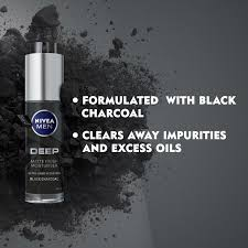 Deep Matte Finish Moisturiser | Face Care | <b>NIVEA MEN</b>