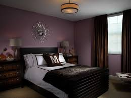 For Purple Bedroom With Chocolate Brown Curtains And Black