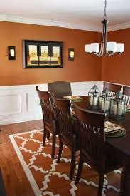 kitchen and dining room paint colors. the yellow cape cod: before and after~a dining room design plan comes to life - love burnt orange! color i love! kitchen paint colors f