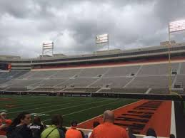 Boone Pickens Stadium Section 101 Home Of Oklahoma State